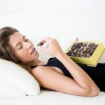 Woman+eating+chocolates